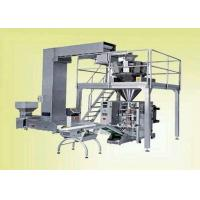 Quality Continuous Pouch Filling And Sealing Machine For Food / Snack , VFFS Packing Machine for sale