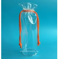Buy cheap Round PVC Drawstring Bags Organizer Plastic Drawstring Storage Bags PVC from wholesalers