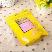 Quality Food grade packaging bag with resealable zipper for sale