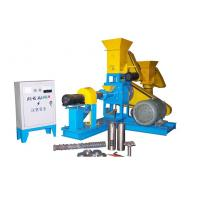 Quality Dry Pet Food Extruder Animal Feed Pellet Machine Driven By 15KW Motor for sale