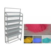 Quality Decorative Diaplay Rack Powder Coating , Epoxy Polyester Resin Silver Powder Coat for sale