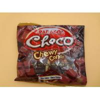 Quality Strong Cube Shaped Chewy Milk Candy / Candies Choco Flavors Fast Shipment for sale