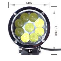 Quality 45w High Lumen Led Truck Headlights, 4D Lens Projector Cree Led Car Headlights for sale
