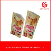 Quality Sachet Packaging Use Plastic Three Side Seal Pouch In Supermarket for sale