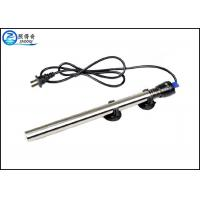 Quality 100W Submersible 304 Stainless Steel Aquarium Heaters With Double Seal Protection for sale