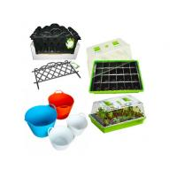 Quality Plastic Garden Seedling Plant Propagator Mini Greenhouse with Lids and Seed Nursery Tray for sale