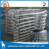 Quality Hot-Dip Galvanized Steel Tube Cattle Free Stall For Dairy Farm 4m Length for sale