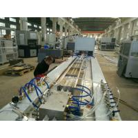 Quality Super Pvc Profile Extrusion Line , Pvc Profile Extrusion Machine For Folding Door Making for sale