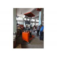 Quality Corrosion Resistance Manual Hydraulic Lift Orange With Heavy Duty Steel Construction for sale