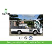 Quality 4 Seats Electric Utility Cargo Cart With Hydraulic Tail Lift 1000kg Payload for sale