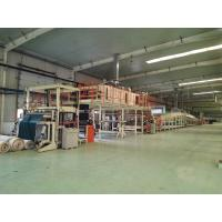 Quality 220cm Adjustable PVC Carpet Tiles Backing Production Line Including Cutter for sale