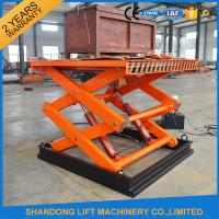China 3 m 2 ton Mid Rise Stationary Hydraulic Scissor Lift with 220V / 380V Power Optional on sale