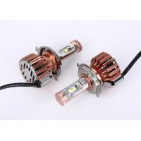 Quality Car Driving Lamp Cree 40W LED Headlight , Low / High Beam LED Bulb 4000LM for sale