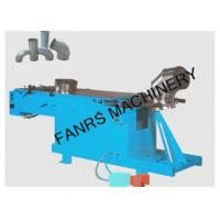 Quality Air Duct Hydraulic Elbow Pipe Machine With Two Working Positions With PLC System for sale