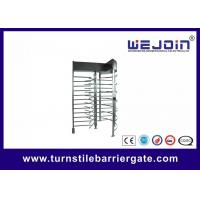 Quality Stainless Steel Manual Full Height Turnstile Speed Gate Systems for Highway toll for sale