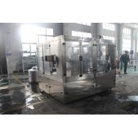 Quality High Speed Automatic Juice Producing Pet Bottling Rinsing Filling Capping Machine Line / Plant for sale