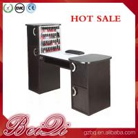 Quality Nail salon equipment supplies wholesale manicure table vacuum and nail salon furniture for sale