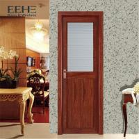 Quality Safety Modern Aluminium Interior Doors / Glass Acoustic Aluminium Bedroom Doors for sale