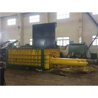 Quality 90 KW Customized Hydraulic Scrap Metal Baling Press 600 x 600 Bale Size for sale