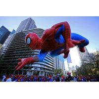 Quality Spiderman Flying Giant Advertising Balloons , Event Giant Advertising Inflatables for sale