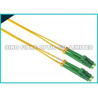 Quality Simplex ST To LC Fiber Patch Cable Singlemode 900 Micron Tight Buffered for sale
