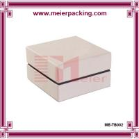 Quality Paper box packaging with foam/ white gift box for promotion/Jewelry gift box ME-TB002 for sale