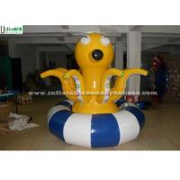Quality Custom Shape Octopus Inflatable Water Toys Spinner Trampoline for sale