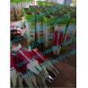 Buy cheap manual corn planter, double barrel portable auto seeder fertilizer from wholesalers
