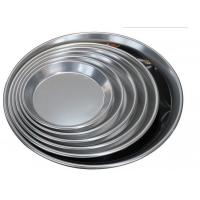 Quality Alum Alloy Bright Surface Pizza Oven Tray , Pizza Baking Tray For Home Kitchen for sale