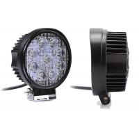 Quality SUV 6000K White LED Work Spot Light 12 Volt / 24 Volt IP67 Anti Corrosion for sale