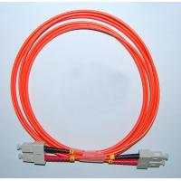 Buy cheap SC-SC MM 50/125 Duplex 2.0MM 2M Fiber Optic Patch Cable from wholesalers