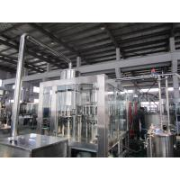 Quality Hot Tea 8000Bph Monoblock Liquid Filling Machine With PLC Control for sale