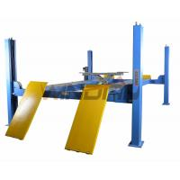 Buy cheap Four Ton 4 Post Auto Lift With Second Jack / Hydraulic Lifts For Cars from wholesalers