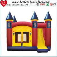 Quality High quality gaint PVC Inflatable bouncer castle toys with slide for sale