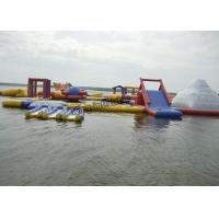 Buy cheap PVC Inflatable Commercial Water Splash Park , Floating Water Playground Equipment from wholesalers