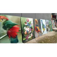 Quality PS lenticular sheet for making large size 3d poster large format lenticular advertising poster 3d flip printing for sale