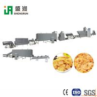 China Breakfast Cereals Puffing Machine Maize Corn Flakes Processing Machinery Extruder on sale
