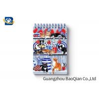 Quality Spiral Binding 3D Lenticular Personalised Stationery Notebooks Cartoon Pet Hardcover for sale