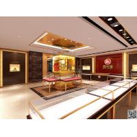 shopping mall high end jewelry shop display showcase with led