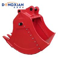 China High Performance DX210 Excavator Hydraulic Parts / Two Way Excavator Bucket Attachments on sale