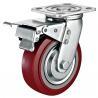 "Buy cheap 6""x 2""Industrial Total Locking Brake Heavy Duty Castor PU Wheel With Swivel from wholesalers"