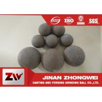 Quality Forged and high cr cast grinding ball for ball mill used in mining for sale