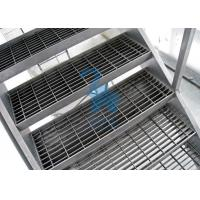 Buy Galvanized Surface Metal Drain Grate Hollowed Ladder Stand 915mm Width at wholesale prices