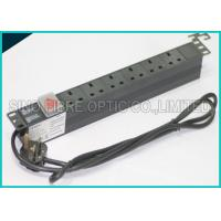 Quality Power Distribution Unit 6 Way UK Socket 19 Horizontal Rack PDU C14 Plug for sale