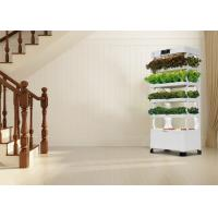 Quality Mobile Smart Hydroponics System , Efficient Vertical Hydroponic Grow System for sale