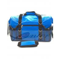 Quality Blue 500D Polyester PVC Travel Cooler Bag With Screen Printing / Embossing Logo for sale