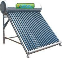 Quality Home appliance integrated unpressurized assistant tank rooftop solar hot water heater for sale