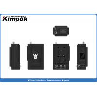 Buy 720P COFDM AV Wireless Transmitter , 5W Rain - Proof  Wireless Video Link with Bank Pack at wholesale prices