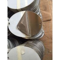 Quality AISI 316 Stainless Steel Sheet , HL Surface OVAL Shape Cold Rolled Steel Plate for sale