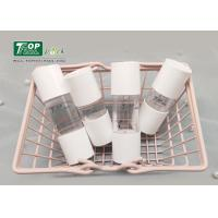 Quality Soft Button Cosmetic Dropper Bottles 15ml Oily Serum Snap - On Logo Printing for sale